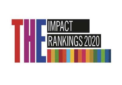 2020泰晤士世界大學影響力排名,東海全球總排名101-200、全國第三、私校第一